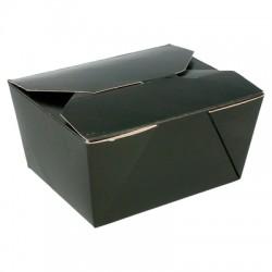 Boîte en carton opaque 780 ml couleur noire