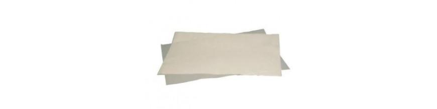 Papier et moules cuisson
